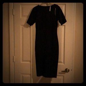 Body conscious Black dress